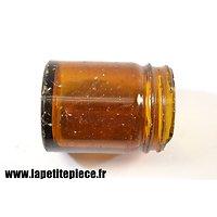 Pot en verre Kruschen Salts - Première Guerre Mondiale