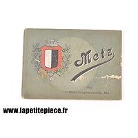 Livret photos METZ sous Empire Allemand 1910