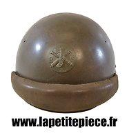 Coque de casque troupes motorisées modèle 1935-38