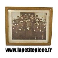 Cadre photo soldats Français fin 19e - début 20e Siècle