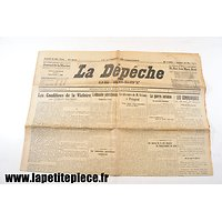 Journal La dépêche du samedi 20 mai 1916