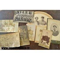 Lot de photographies époque Première Guerre Mondiale