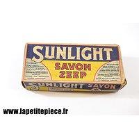Savon Sunlight époque Deuxième Guerre Mondiale