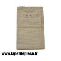 Livret militaire Soldat milicien Armée Belge WW2 - 3e Corps Médical