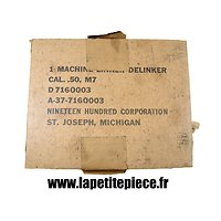 Carton de machine à garnir US M7 Cal. .50