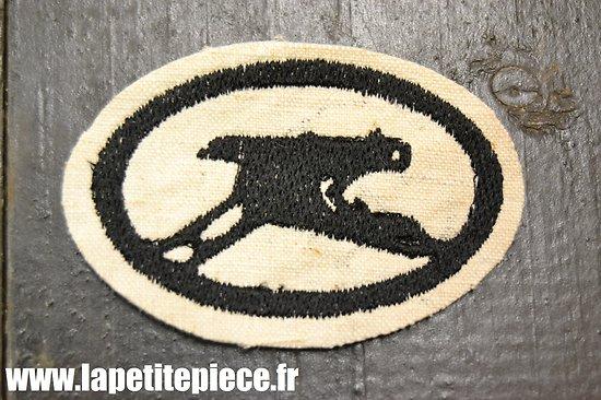 Repro insigne / brevet de tireur MG tissu. MG Scharfschützen