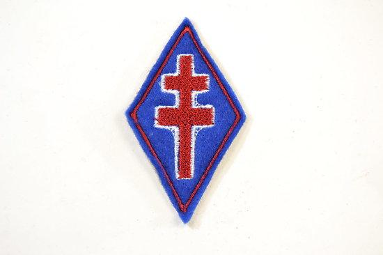 Repro insigne d'épaule FRANCE LIBRE WW2