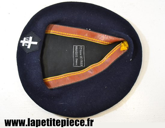 Copie de beret FFI  (Henri Veyrier à Bruyères Vosges)) taille 59