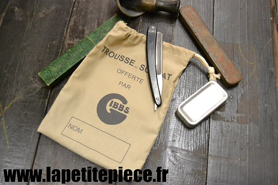 Repro trousse de toilette France WW2