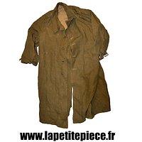 Surtout de toile modèle 1935, troupes motorisées. France WW2