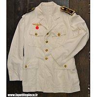 Repro veste blanche d'été Kriegsmarine - Weisses Jackett