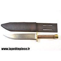 Couteau de fortune - artisanat de tranchée Première Guerre Mondiale.