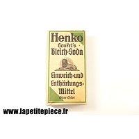 Paquet de lessive Allemand Deuxième Guerre Mondiale. WW2. Henko