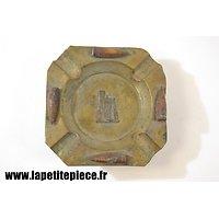 Cendrier artisanat souvenir de la Première Guerre Mondiale. Cathédrale de Reims
