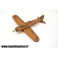 Jouet artisanal avion Français Deuxième Guerre Mondiale