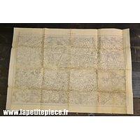 Carte secteur CAMBRAI - Epoque Première Guerre Mondiale