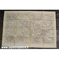 Carte secteur BEAUVAIS, Epoque Première Guerre Mondiale