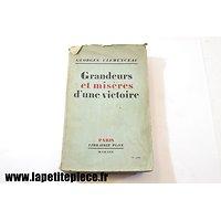 Grandeurs et misère d'une victoire, Georges Clemenceau 1930