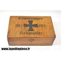 Repro boite à souvenirs Allemande Première Guerre Mondiale
