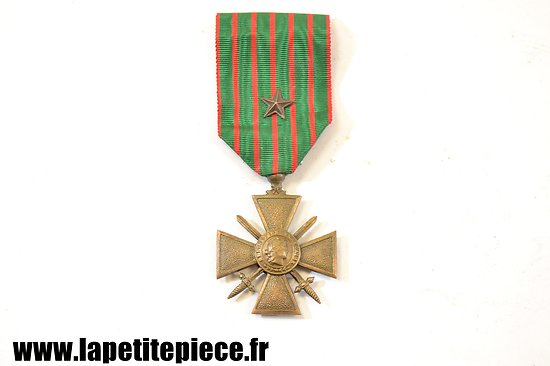 Croix de Guerre 1914 - 1918 avec citation France WWI