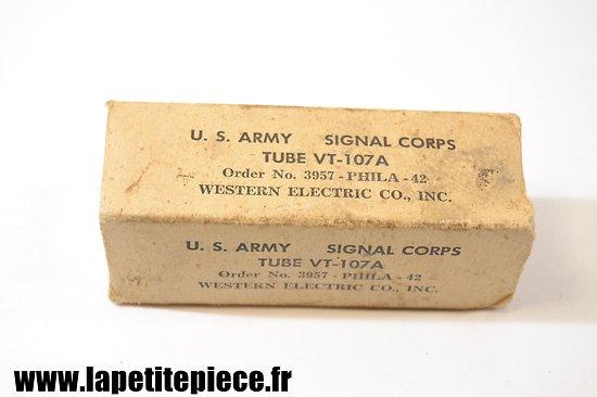 Lampe radio US ARMY TUBE VT-107 A 1942