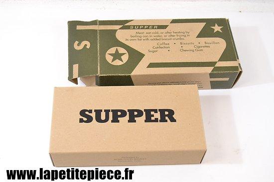Repro ration type K - US WW2