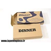 Repro ration type K - dinner - US WW2