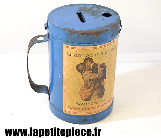 Repro boite à dons Croix Rouge Française