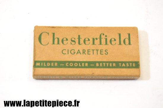 Repro paquet de cigarettes Chesterfield WW2