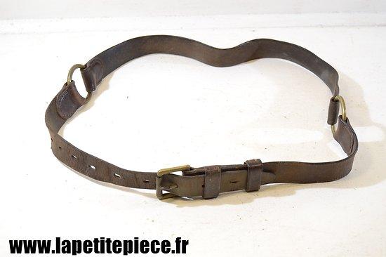 Ceinturon simple - Artillerie / gendarmerie Première Guerre Mondiale