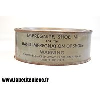 Impregnite Shoe M1 - Graisse anti-gaz vésicants