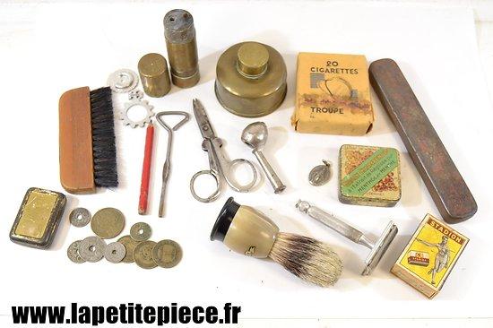 Lot effets personnels Français Deuxième Guerre Mondiale