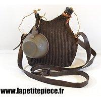 Bidon modèle 1877 2L reconditionné, housse ersatz, France WWI