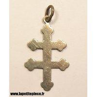 Pendentif en forme de croix de Lorraine, résistance / occupation Allemande WW2