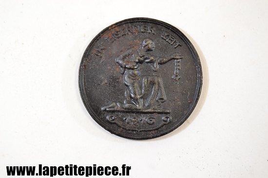 """Médaille / jeton """"In Eiserner Zeit"""" 1916"""