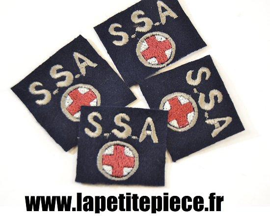 Repro insigne tissu SSA Sections Sanitaires Automobiles