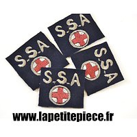 Repro insigne tissu SSA Sections Sanitaires Automobiles