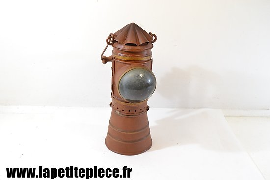 Lampe / phare à bougie, époque Première Guerre Mondiale