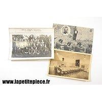Lot documents WW2 - photo prisonniers Allemand, cartes postales