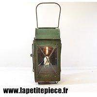 Lampe / lanterne à bougie, époque Première Guerre Mondiale