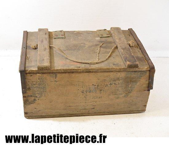 Caisse pour relais de mortier modèle 1935 - France WW2