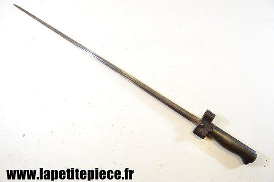 Baionnette Française modèle 1886-15 Rosalie poignée fonte