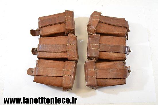 Paire de cartouchières Export, idéal reconstitution WW1
