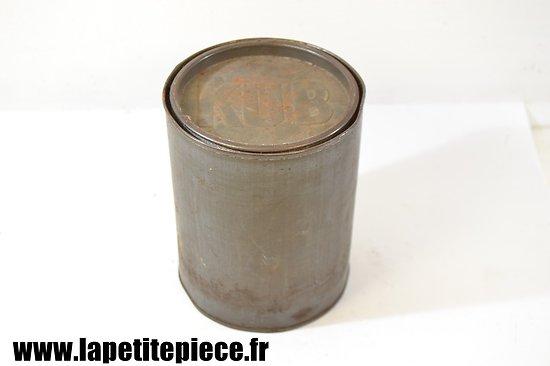 Boite Bouillon KUB - rationnement militaire Première Guerre Mondiale