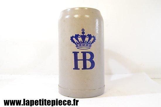 Chope à bière allemand début 20e Siècle HofBräuhaus München