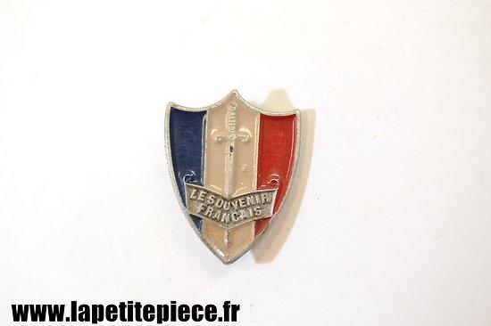 Badge Le Souvenir Français - Aluminium AUGIS. WW2