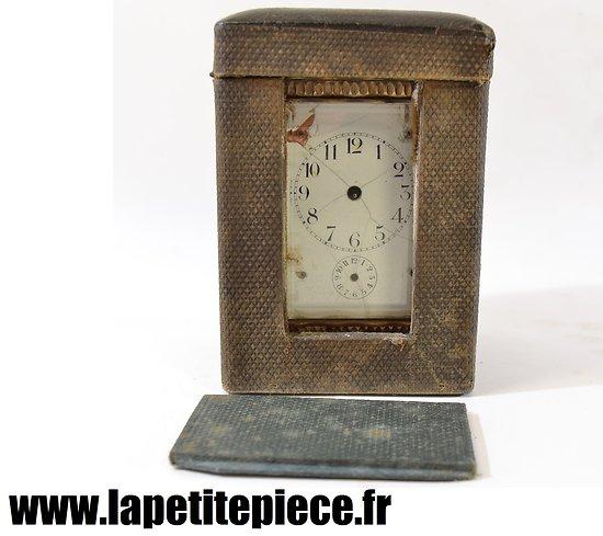 Pendulette de voyage / officier. France fin 19e - début 20e Siècle