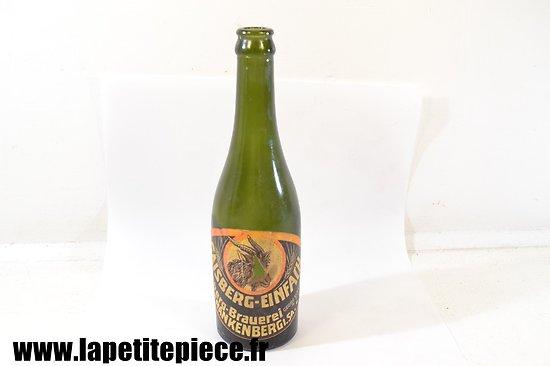 Bouteille de bière Allemande Deuxième Guerre Mondiale