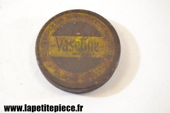 Boite de vaseline Anglaise époque Deuxième Guerre Mondiale
