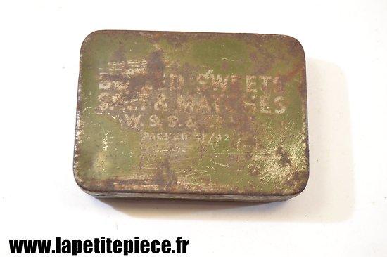 Boite de ration Anglaise 1942 - Boiled Sweet
